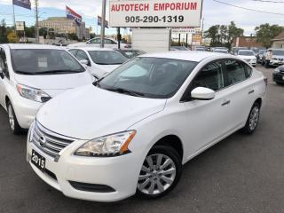 Used 2015 Nissan Sentra Automatic Bluetooth/All Power/Keyless&GPS* for sale in Mississauga, ON