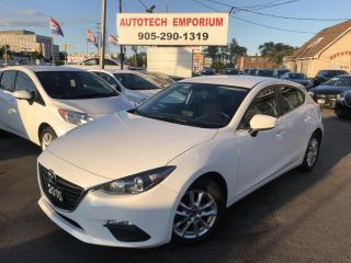 Used 2015 Mazda MAZDA3 GS Sport Navigation/Htd Seats/Camera/Alloys for sale in Mississauga, ON