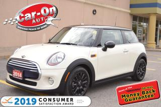 Used 2014 MINI Cooper Hardtop LEATHER PANO ROOF HEATED SEATS BLUETOOTH LOADED for sale in Ottawa, ON