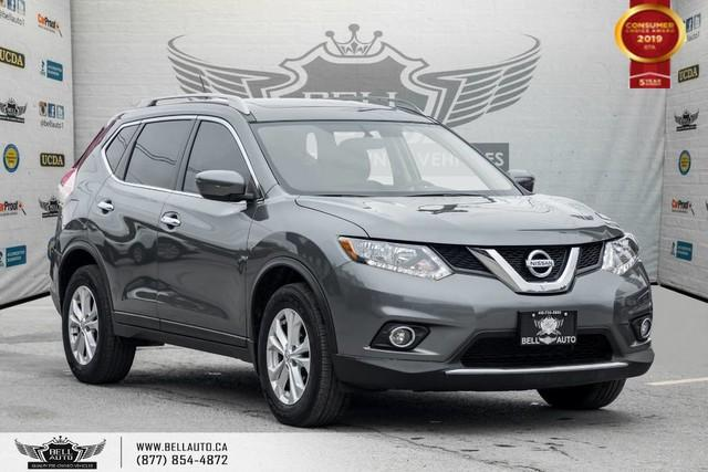 2016 Nissan Rogue SV, AWD, BACK-UP CAM, PANO ROOF, HEATED SEATS, PUSH START