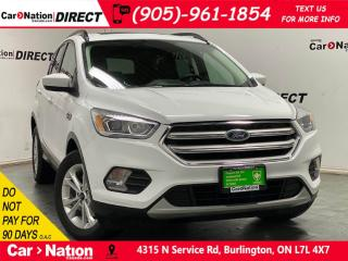 Used 2018 Ford Escape SEL| 4X4| LEATHER| PANO ROOF| NAVI| for sale in Burlington, ON