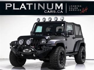 Used 2015 Jeep Wrangler Sport S, 4X4, CONVERTIBLE, NAVI, Bluetooth for sale in Toronto, ON