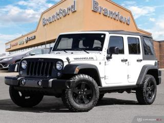 Used 2017 Jeep Wrangler Unlimited - $224 B/W - $224 B/W - $224 B/W - $224 B/W  - $224 B/W for sale in Brantford, ON