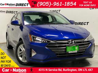 Used 2019 Hyundai Elantra Preferred| APPLE CARPLAY & ANDROID AUTO| for sale in Burlington, ON