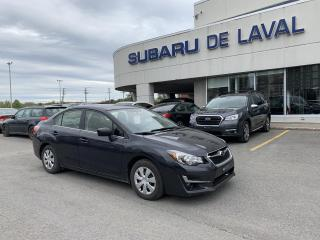 Used 2016 Subaru Impreza 2.0i Berline for sale in Laval, QC