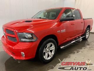 Used 2014 RAM 1500 Sport 4x4 CREW CAB V8 HEMI Cuir/Tissus MAGS for sale in Shawinigan, QC