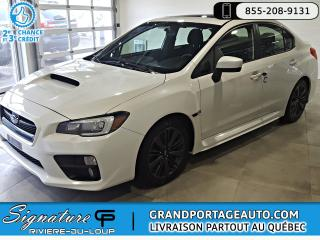 Used 2015 Subaru Impreza WRX Sport Manuelle Toit AWD for sale in Rivière-Du-Loup, QC