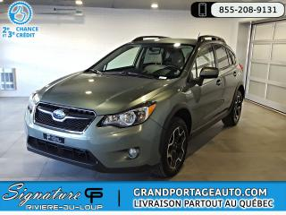 Used 2015 Subaru XV Crosstrek 2.0i Touring CVT AWD *CLEAN* for sale in Rivière-Du-Loup, QC
