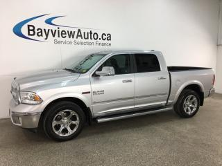 Used 2017 RAM 1500 Laramie - ECODIESEL! HTD/COOLED LTHR! NAV! SUNROOF! REM START! for sale in Belleville, ON