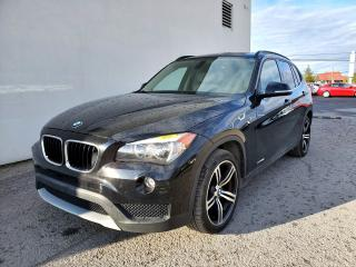 Used 2014 BMW X1 XDRIVE28I SIÈGES CHAUFF CUIR *TOIT PANORAMIQUE* for sale in St-Jérôme, QC