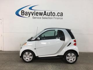 Used 2015 Smart fortwo Pure - ONLY 2800KMS! NAV! HEATED SEATS! BLUETOOTH! for sale in Belleville, ON