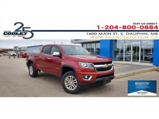 Used 2016 Chevrolet Colorado 4WD LT for sale in Dauphin, MB