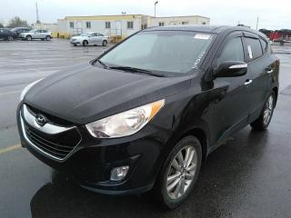 Used 2013 Hyundai Tucson LIMITED AWD for sale in Waterloo, ON