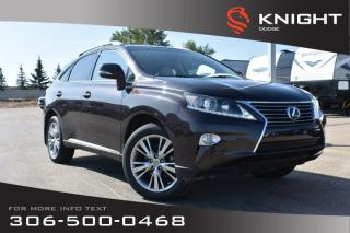 Used 2014 Lexus RX 350 | Leather | Heated & Cooled Seats | Navigation | for sale in Swift Current, SK