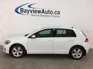 Used 2018 Volkswagen Golf 1.8 TSI Comfortline - AUTO! HTD LEATHER! PANOROOF! ADAPTIVE CRUISE! ONLY 7800KMS! for sale in Belleville, ON