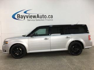 Used 2019 Ford Flex Limited - AWD! HTD LEATHER! 3 ZONE CLIMATE! SYNC! BLK ALLOYS! + MUCH MORE! for sale in Belleville, ON