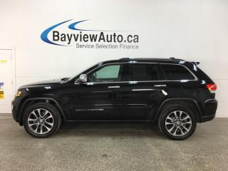 Used 2018 Jeep Grand Cherokee Limited - HTD LEATHER! NAV! SUNROOF! 4X4! for sale in Belleville, ON
