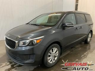 Used 2016 Kia Sedona 8 Passagers Mags Caméra de recul Sièges chauffants for sale in Shawinigan, QC