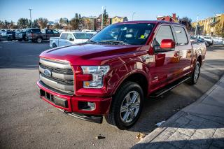 Used 2017 Ford F-150 Lariat 4X4, Sport Package, Tow Package, Sync Connect, Tailgate Step, Remote Start, Pick Up Box Lighting for sale in Okotoks, AB