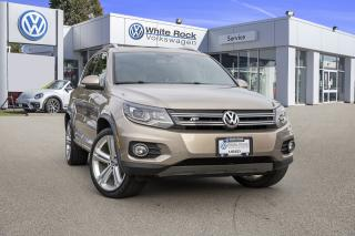 Used 2015 Volkswagen Tiguan Highline <b>*LEATHER* *R-LINE* *HUGE SUNROOF* *HEATED SEATS* *NAVIGATION*<b> for sale in Surrey, BC