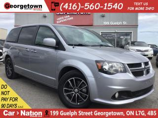 Used 2018 Dodge Grand Caravan GT | LEATHER | PWR DOORS | CAM | HTD WHL/STS | for sale in Georgetown, ON