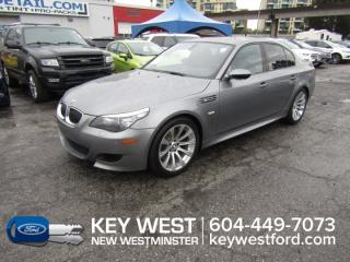 Used 2008 BMW 5 Series M5 Sedan Sunroof Leather Nav Heated Seats for sale in New Westminster, BC