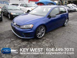 Used 2017 Volkswagen Golf R AWD Leather Nav Cam Heated Seats for sale in New Westminster, BC