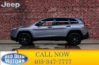 Used 2017 Jeep Cherokee 4x4 Sport BCam Remote Start for sale in Red Deer, AB