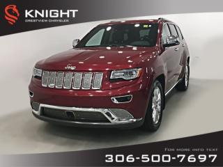 Used 2014 Jeep Grand Cherokee Summit EcoDiesel | Sunroof | Navigation for sale in Regina, SK