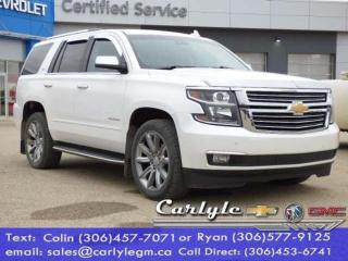Used 2016 Chevrolet Tahoe 7Pass NAV, DVD S/R Max Tow for sale in Carlyle, SK