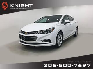 Used 2017 Chevrolet Cruze Premier | Leather | Sunroof | Navigation for sale in Regina, SK