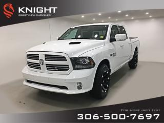 Used 2017 RAM 1500 Sport Crew Cab | Leather | RamBox | Remote Start for sale in Regina, SK