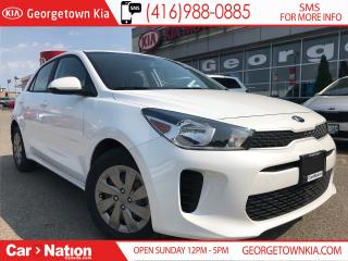 Used 2019 Kia Rio LX+ | 0% | 6 SPEED | $117 BI-WEEKLY | for sale in Georgetown, ON