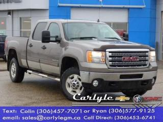 Used 2012 GMC Sierra 2500 HD Crew, Cloth Bench, SWB for sale in Carlyle, SK
