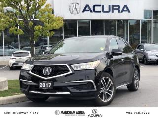 Used 2017 Acura MDX Tech SH-AWD, Navi, Rear DVD, Pwr Liftgate for sale in Markham, ON