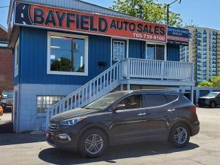 Used 2017 Hyundai Santa Fe SE AWD **Leather/Pano Roof/Blind Spot Monitor** for sale in Barrie, ON