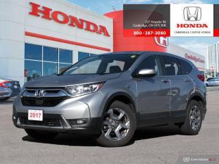 Used 2017 Honda CR-V EX HONDA SENSING TECHNOLOGIES | POWER SUNROOF | HEATED FRONT SEATS for sale in Cambridge, ON