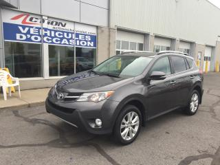 Used 2014 Toyota RAV4 AWD 4dr Limited GPS CUIR TOIT ET PLUS for sale in St-Hubert, QC
