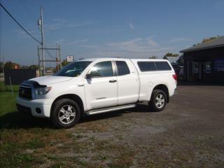 Used 2011 Toyota Tundra Tundra-Grade 5.7L Double Cab for sale in Fenelon Falls, ON