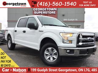 Used 2017 Ford F-150 XLT | 4X4 | 6 PASS | BLU TOOTH | FOGS | ALLOYS for sale in Georgetown, ON