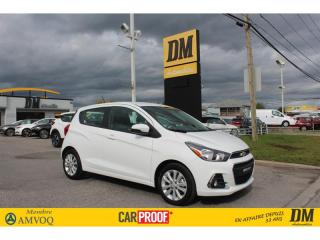 Used 2018 Chevrolet Spark LT **14 000 KM ** CAMERA RECUL MAGS  BLUETOOTH for sale in Salaberry-de-Valleyfield, QC