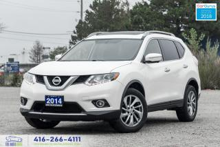 Used 2014 Nissan Rogue SL AWD TECH 1Owner CleanCarfax Certified WeFinance for sale in Bolton, ON