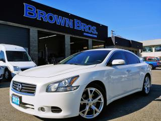 Used 2012 Nissan Maxima 3.5 SV, LOCAL, NO ACCIDENTS for sale in Surrey, BC
