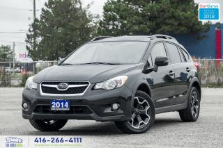 Used 2014 Subaru XV Crosstrek Limited*Tech*Navi*Leather*Roof Certified Financing for sale in Bolton, ON