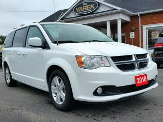 Used 2018 Dodge Grand Caravan Crew, Rear Air/Heat, Pwr Doors/Locks, Digital Climate for sale in Paris, ON