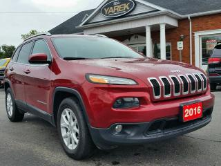 Used 2016 Jeep Cherokee North 4x4, NAV, Heated Seats/Wheel, Remote Start, Pwr Gate, Back Up Cam for sale in Paris, ON