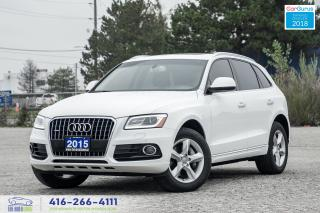 Used 2015 Audi Q5 Diesel 1 Owner Clean Carfax Progressiv + Financing for sale in Bolton, ON