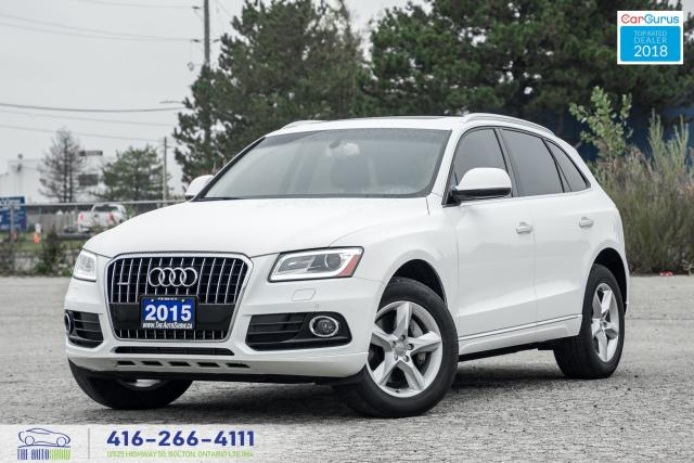 2015 Audi Q5 TDI Navi*Gps*PanoRoof*1Owner CleanCarfax Financing