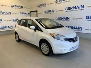 Used 2014 Nissan Versa Note HATCHBACK- BAS KM- BLUETOOTH- AUTOMATIQUE for sale in St-Raymond, QC