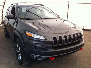 Used 2015 Jeep Cherokee Trailhawk COLD WEATHER GROUP, TRAILER TOW GROUP, UNDERBODY SKID PLATE for sale in Ottawa, ON